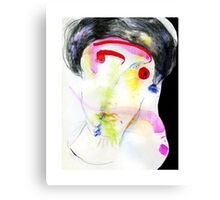 the woman who flew  Canvas Print
