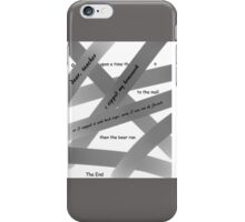 Ooops - I Ripped my paper! iPhone Case/Skin