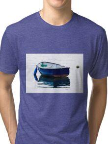 Blue Row Boat Tri-blend T-Shirt