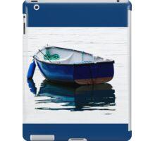 Blue Row Boat iPad Case/Skin