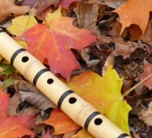 Fall With A Shakuhachi Sticker