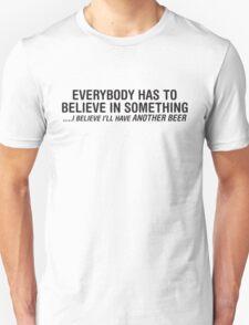 Believe Beer T-Shirt