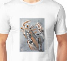 Courage - Horse Art by Valentina Miletic Unisex T-Shirt
