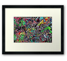 Death Clocke Framed Print