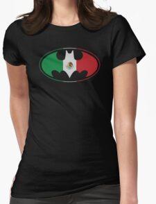 Bat Man Mexican Flag Mexico Logo T-Shirt