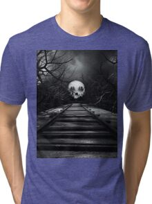 End of the Line  Tri-blend T-Shirt