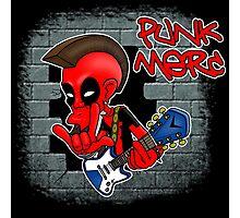 Punk Merc Photographic Print