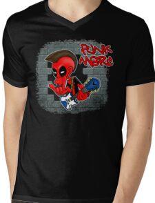 Punk Merc Mens V-Neck T-Shirt