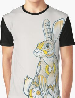 Mandala Bunny Graphic T-Shirt