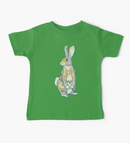 Mandala Bunny Baby Tee