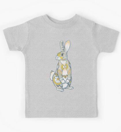 Mandala Bunny Kids Tee
