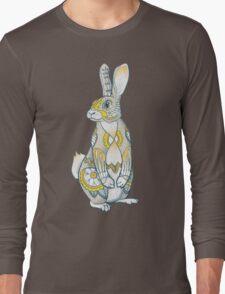 Mandala Bunny Long Sleeve T-Shirt