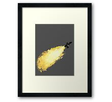 Firefly Breaking Atmo Framed Print