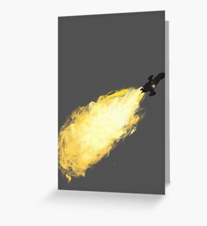 Firefly Breaking Atmo Greeting Card