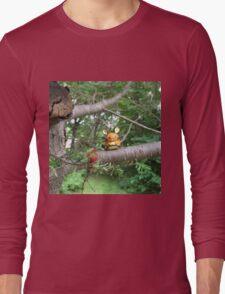A Wild Dedenne Appears! Long Sleeve T-Shirt