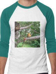 A Wild Dedenne Appears! Men's Baseball ¾ T-Shirt
