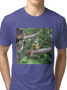 A Wild Dedenne Appears! Tri-blend T-Shirt