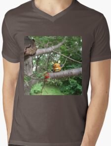 A Wild Dedenne Appears! Mens V-Neck T-Shirt