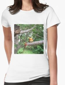 A Wild Dedenne Appears! Womens Fitted T-Shirt