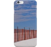 The snow fence iPhone Case/Skin