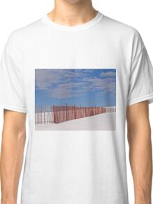 The snow fence Classic T-Shirt