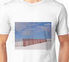 The snow fence Unisex T-Shirt
