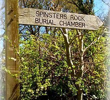 Spinster's Rock Burial Chamber by Charmiene Maxwell-Batten