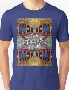 The Throne Room Fontainebleau Chateau Gorgeous Royal Interior Unisex T-Shirt