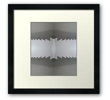 Up & down Framed Print