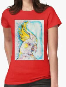Blue Cockatoo Womens Fitted T-Shirt