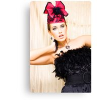 Moulin Rouge Stage Performer Canvas Print