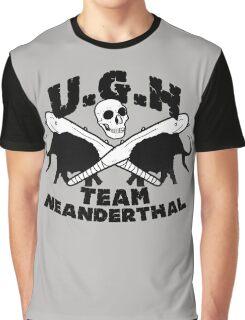 Prehistoric baseball team Graphic T-Shirt