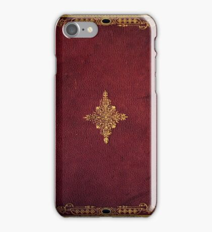 Old Age Book Cover iPhone Case/Skin