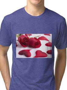 Couple Leaf Tri-blend T-Shirt