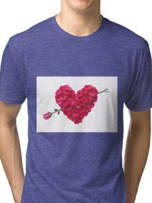 Arrow to Heart Tri-blend T-Shirt