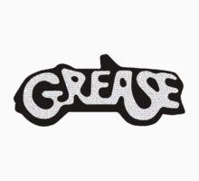 Grease Lyrical Logo Kids Tee