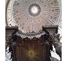 Michelangelo's Dome by Brian Mason