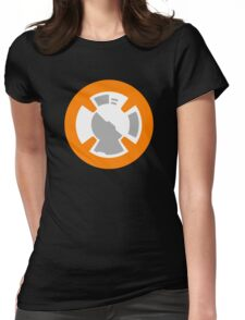 BB-8 Design Womens Fitted T-Shirt