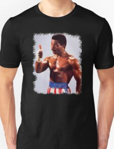 Rocky Movie Master of Disaster The One and Only Apollo Creed T-Shirt