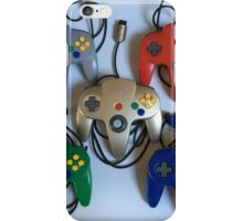 N64 Controllers iPhone Case/Skin