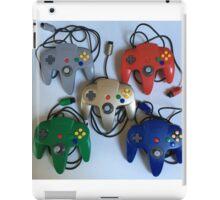 N64 Controllers iPad Case/Skin