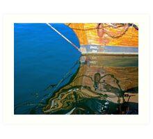 Harbour Colours Art Print