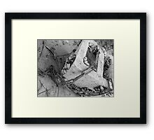 Cement Chains Framed Print