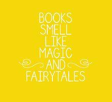 Books Magic Fairytales Yellow by dandelionnwine