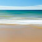 Beach Abstract by Glenda Williams