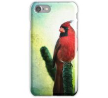 Red Cardinal No. 1 - Kauai - Hawaii iPhone Case/Skin