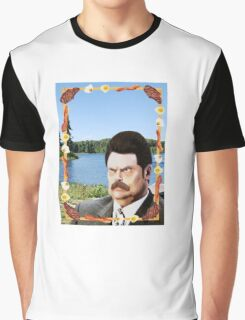 Ron Swanson: Man, Myth, Legend Graphic T-Shirt