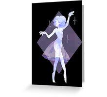 Blue pearl Greeting Card