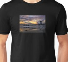 Huntington Beach Pier At Sunset Unisex T-Shirt
