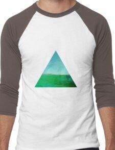 Triangle View Men's Baseball ¾ T-Shirt
